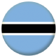 Botswana Country Flag 25mm Pin Button Badge